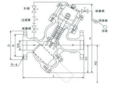 yq98005过滤活塞式电动浮球阀结构图.jpg
